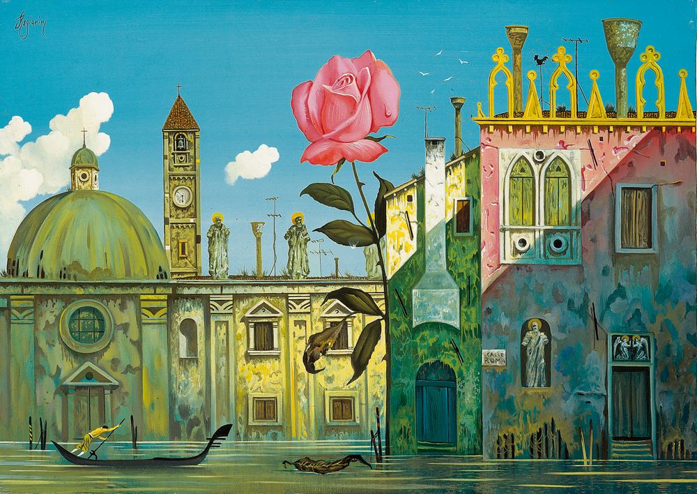 Sogno Veneziano - 1990 Olio su tela - cm 60x80
