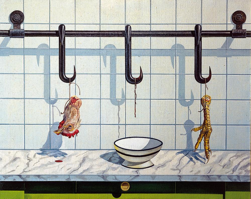Natura morta - 1978 Olio su tela - cm 100x80