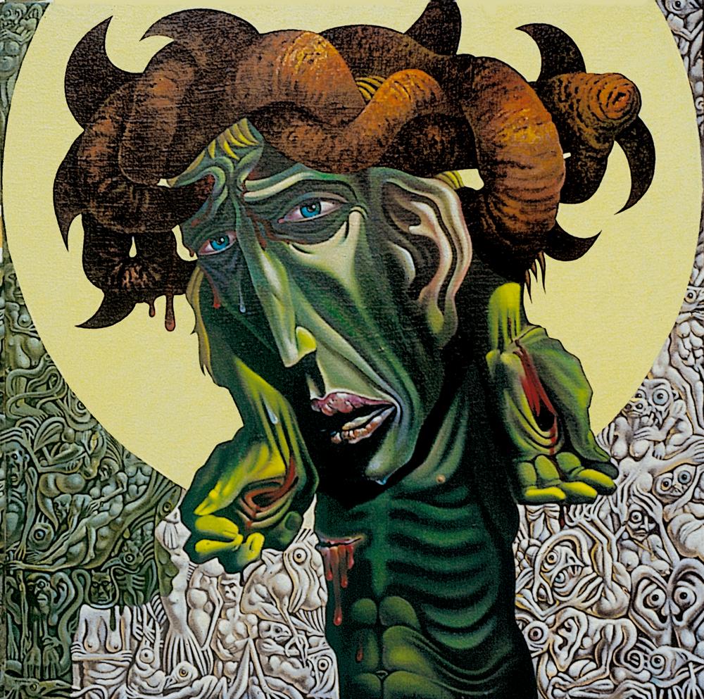 L'uomo - 1980 Olio su tela - cm 100x100