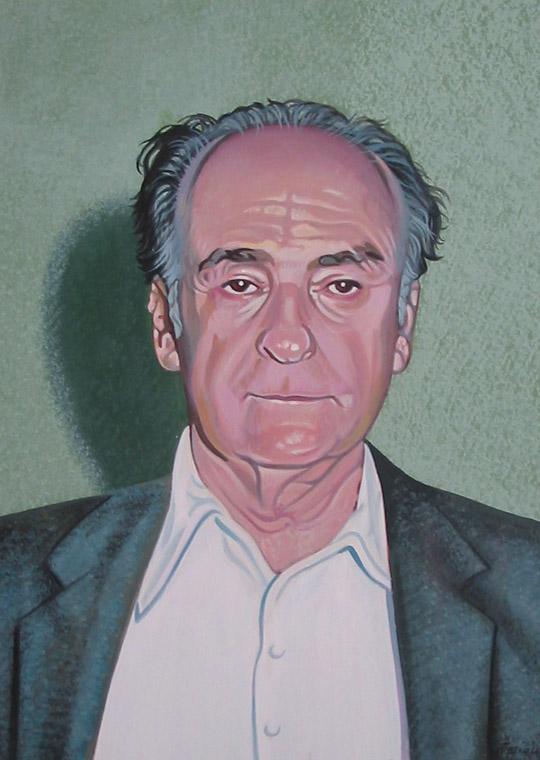 Ritratto del poeta Zanzotto